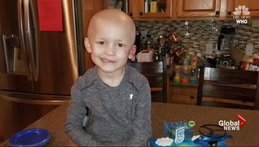 'I want 5 bouncy houses': Boy prepares own obituary, funeral before dying from rare cancer