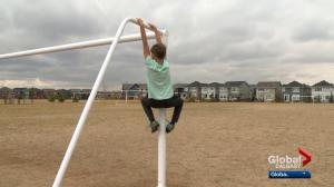 Frustrated Calgary parents say government playground grant should apply to all new schools
