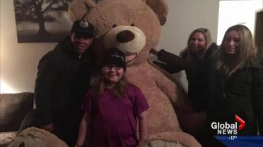 Edmonton girl dying from brain cancer checks Arctic adventure off