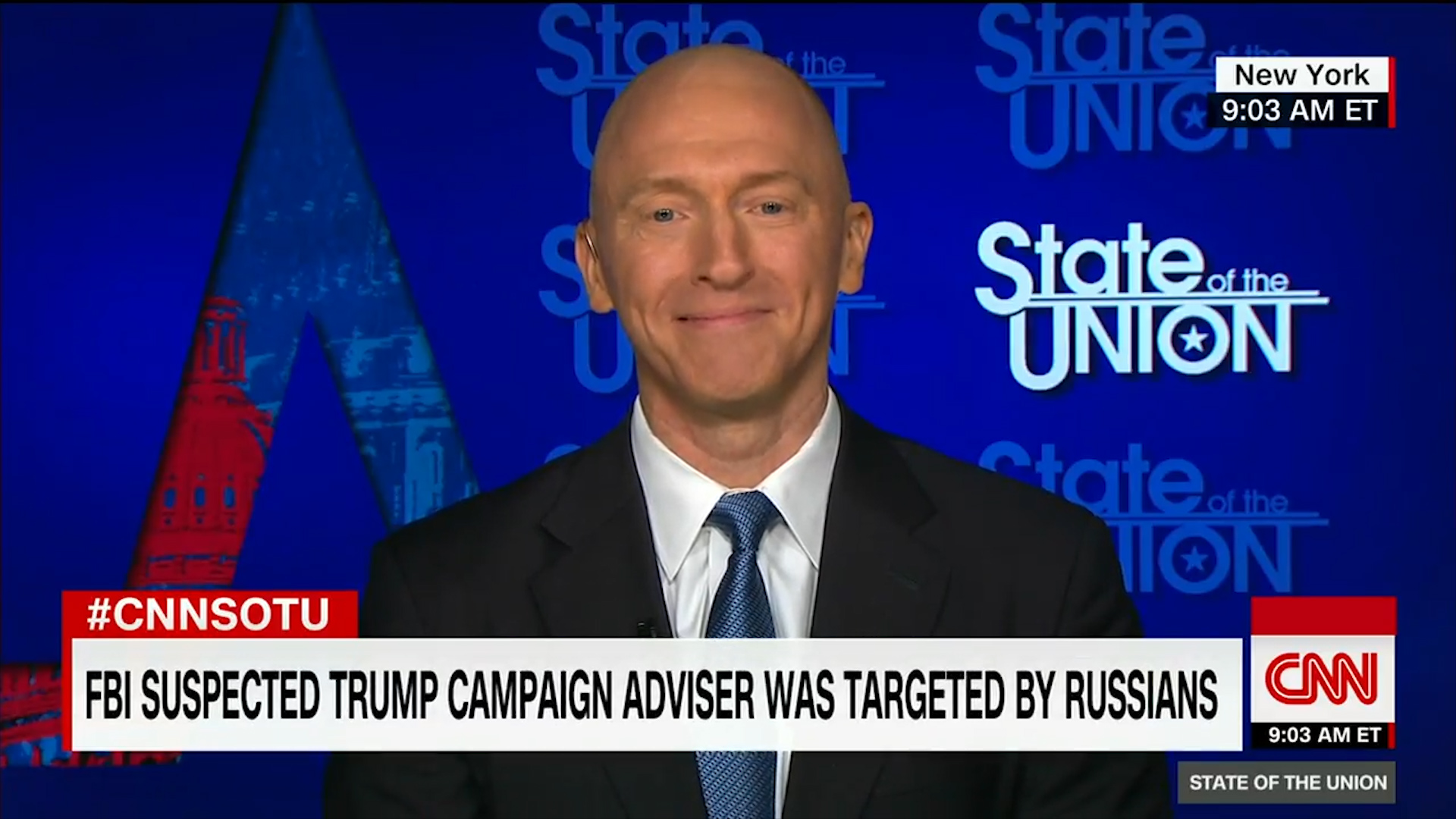 Former Trump campaign adviser Carter Page denies being Russian 'agent'