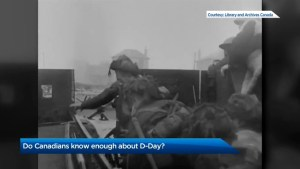 Canadians get failing grade on D-Day history : poll