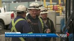 Province unveils new safety measures for B.C. mines