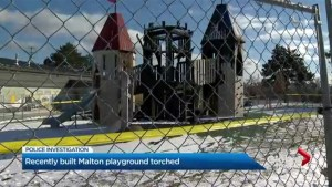 New Malton playground torched