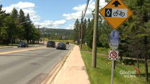 Public debate underway to discuss bike lanes on mountain road in Moncton