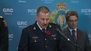 RCMP Supt. Kalist talks about parkade explosions in Sherwood Park