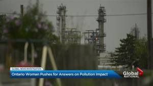 Ontario woman pushes for answers on pollution impact
