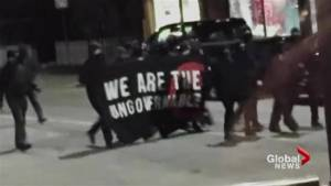 "More arrests in Hamilton after a vandalism spree in March by a gang declaring themselves the ""ungovernables"""