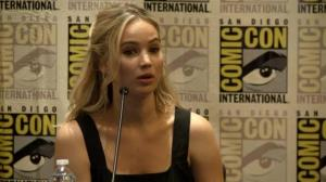 Jennifer Lawrence talks final 'Hunger Games' movie at San Diego Comic-Con