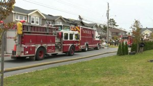 Sunday morning fire heavily damages Bedford home