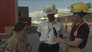 Yvonne Schalle and Jay Durant do Fire Ops 101