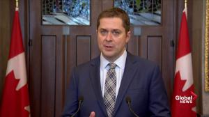 Scheer: Liberal MP's being put in an 'impossible position' by Trudeau