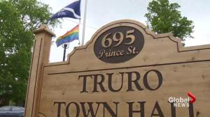 Truro flying pride flag for first time in town's history