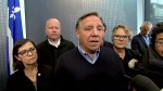 Quebec Premier François Legault gives update on flooding