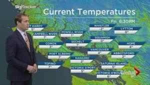 BC Evening Weather Forecast: Jan 8