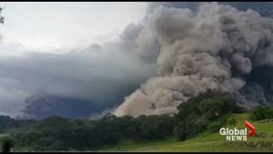 Guatemala's Fuego volcano erupts violently, killing 6 and injuring 20