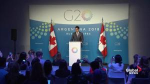 Trudeau offers condolences for 'friend of Canada' George H.W. Bush