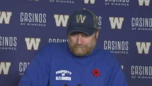 RAW: Blue Bombers Mike O'Shea Media Briefing – Nov. 7