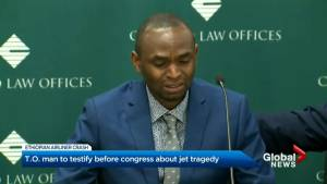 Toronto man who lost family in Ethiopian Airlines crash to testify in front of U.S. congress