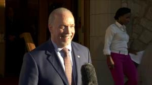 John Horgan announces Lt.-Gov has asked him to form government