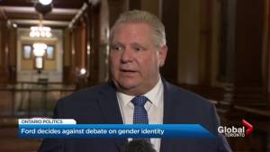 Doug Ford says he'll stop bid to remove teaching of gender identity in Ontario schools