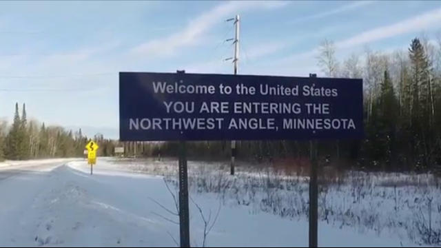 Click to play video 'Petition to give Minnesota's Northwest Angle to Canada'