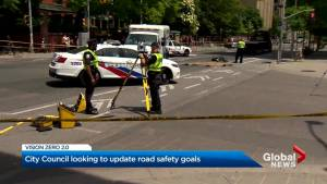 Toronto city council updates its road safety plan