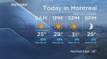 Global News Morning weather forecast: Friday, July 20