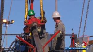 Premier Notley fires back at Saskatchewan premier over pitch to energy companies