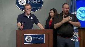 Area, amount of rainfall makes Hurricane Harvey unique: FEMA