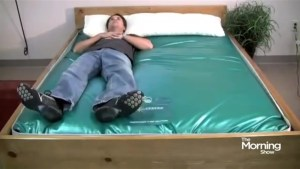 Is the waterbed making a comeback?