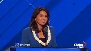 Hawaii's Tulsi Gabbord to run for president in 2020