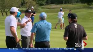 Holly Sonders part of Synergy 8 golf tournament