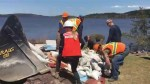 Volunteers from across province gather to help with Saint John flood clean-up
