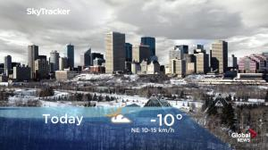 Edmonton early morning weather forecast: Wednesday, January 16, 2019