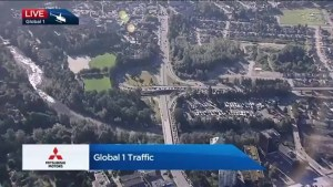 Lions Gate Bridge closed in both directions to traffic Friday morning