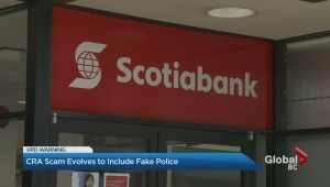CRA fraudsters now using fake cops