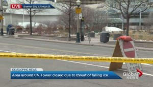 CN Tower closed for third consecutive day due to falling ice