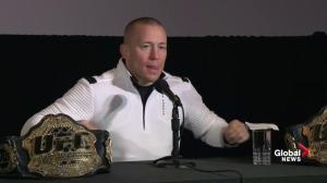 GSP: Royce Gracie, Wayne Gretzky were my biggest inspirations