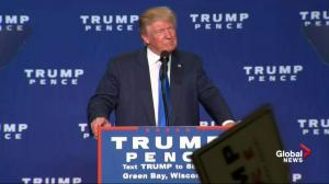 Trump calls Clinton 'the most corrupt person ever to run for the presidency'