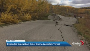 Landslide fears force evacuation of community outside of Fort St. John