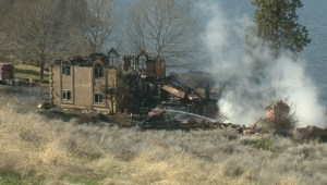 Kelowna woman escapes from burning house, Fire Investigator Paul Johnson comments