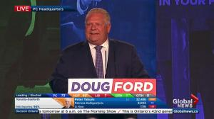 Ontario Election: Doug Ford says Rob is 'looking down from heaven'