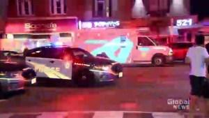 Shooting in Toronto's Greektown leaves multiple people injured.