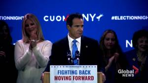 Midterm Elections: 'I am humbled:' Andrew Cuomo on winning another term as governor of New York