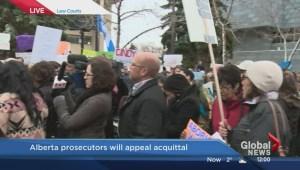 Edmonton protest for acquittal in Cindy Gladue murder case