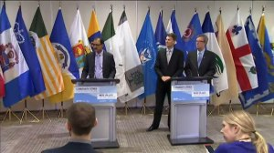 Infrastructure minister discusses mayors concern of equal funding for all cities