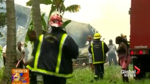 Plane crashes in Cuba moments after taking off from Havana airport