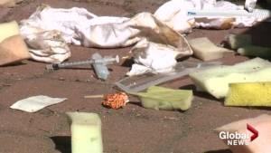 Kelowna public encouraged to pick up discarded needles