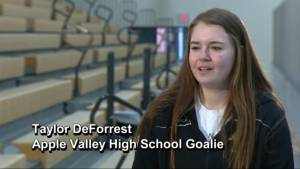 High school goalie shatters Minnesota record after making 111-saves