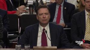 James Comey explains why he re-opened Clinton email investigaton